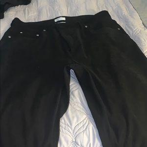 Black slacks/ very comfortable